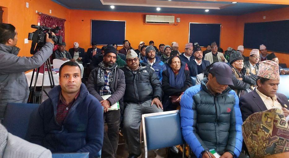 सहकारी व्यवस्थापनमा स्थानीय सरकारकाे भुमिका विषयक कार्यशाला धनगढी कार्यक्रम..